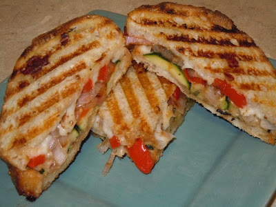 Satisfy your tastebuds: GRILLED VEGETABLE PANINI