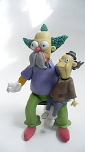 krusty y el titere