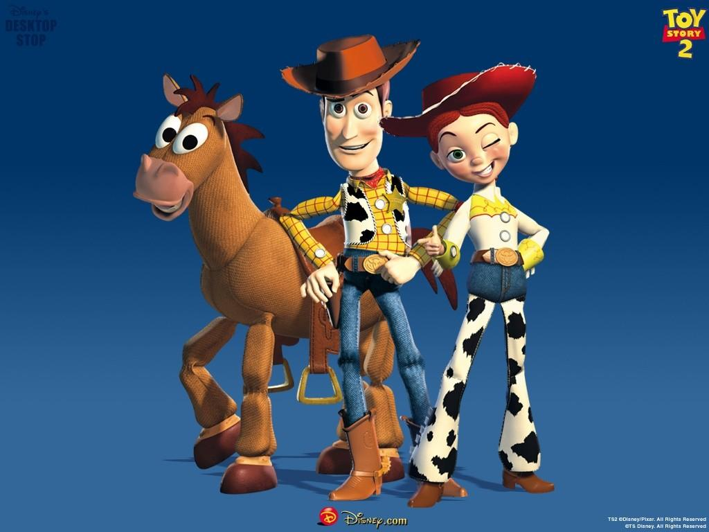 Toy Story 2 Woody and Jessie