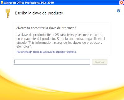 clave de producto microsoft office professional plus 2010 corporativo