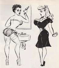 Click the Cuties Daily for Vintage Sleaze Art Blog