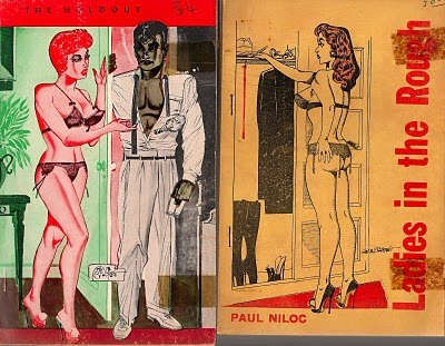 Bilbrew Digest Paperback Covers Rare Vintage Sleaze Art
