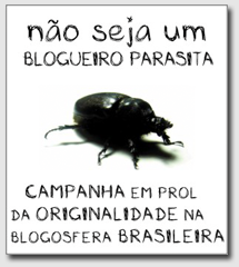 Campanha pela originalidade na blogosfera brasileira