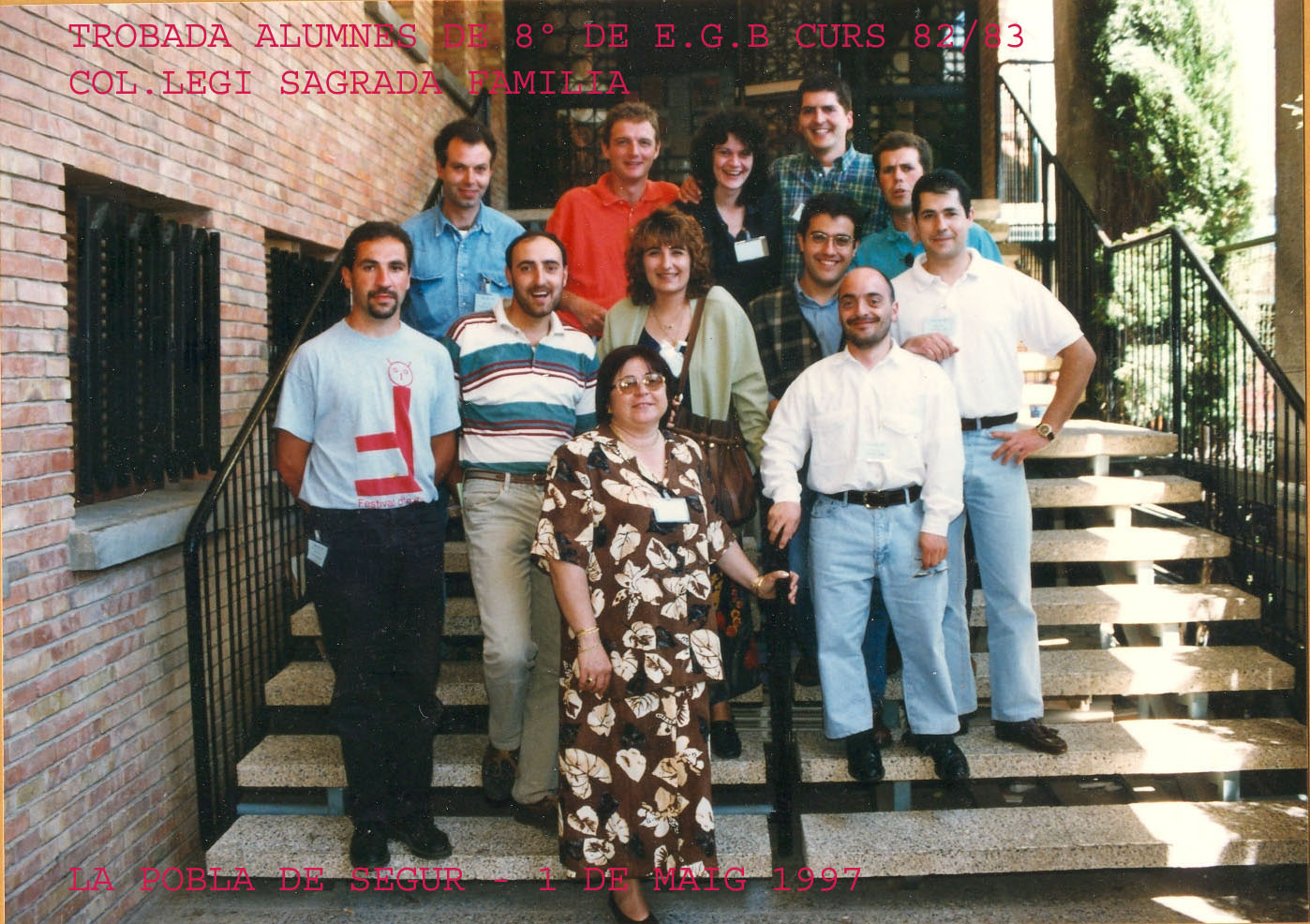Trobada alumnes 1997