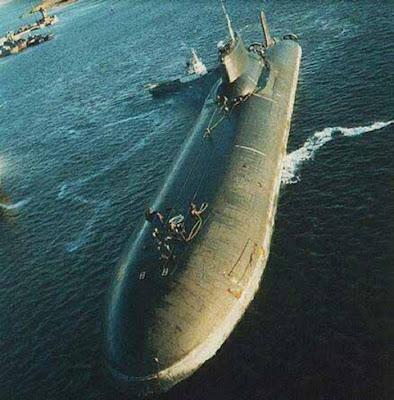 Increibles submarinos rusos , no tan lejos  de la ficcion