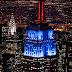 Impresionantes fotos de Nueva York por la noche