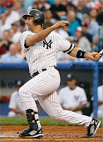 Jorge Posada Spent Most of 2008 on the DL