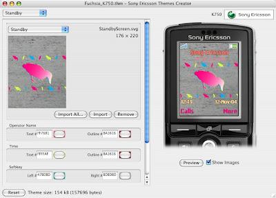Creador de Themes para el Sony Ericsson