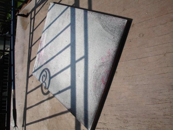 wood plank screen printing pallet