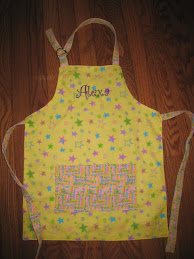 Personalized Child Apron (reversible)