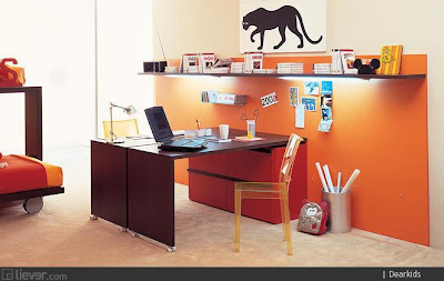 Vision on living op kamers hoe richt je een studentenkamer in - Kleur warme kamer ...