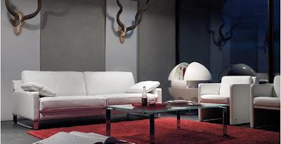 Vision on living kleurvlakken in je interieur - Halve cirkelbank ...