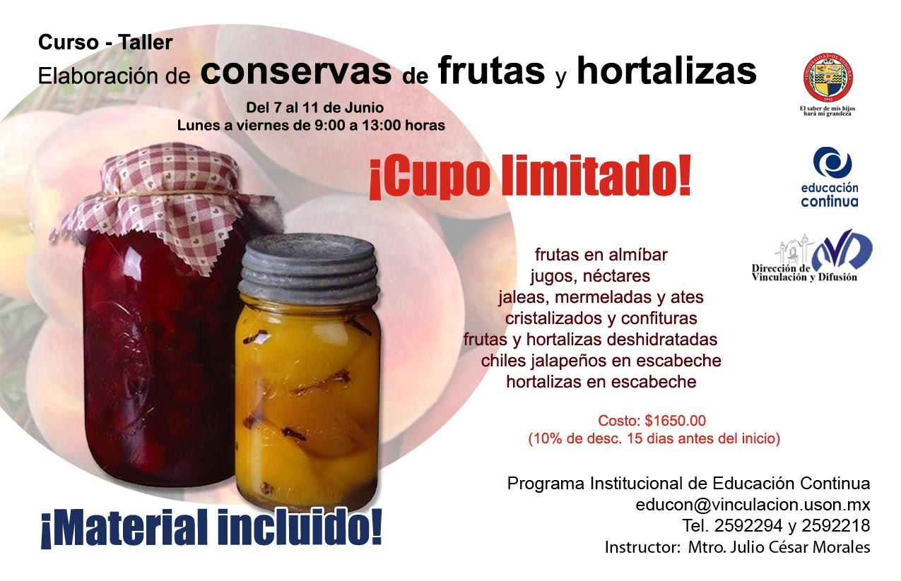 Frutas en almíbar, jugos, néctares jaleas, mermeladas y ates ...