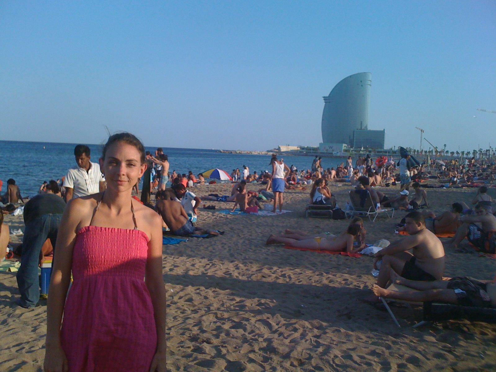 Beach Barcelona Spain