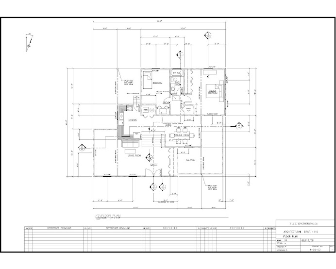 Cad drafting services for Floor plan drafting services