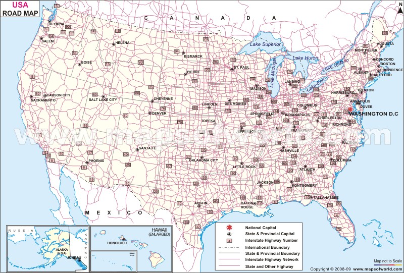 Map Of Usa Driving HBGE – Us Driving Map