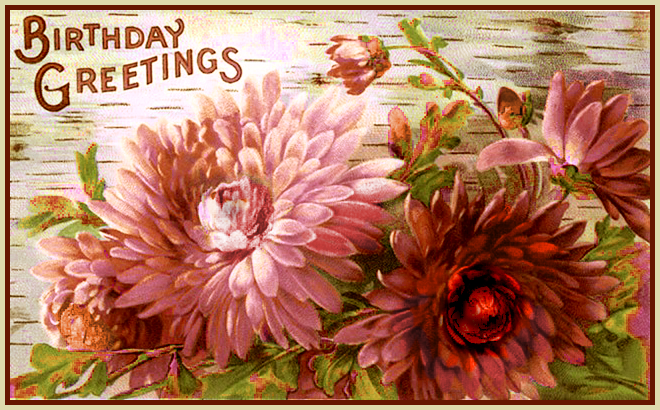 Banner Haus News: Cruel Rant and For Autumn Birthdays, A Vintage ...