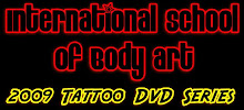 International School of Body Art Learn How To Tattoo Dvd Series! Made in 2009!