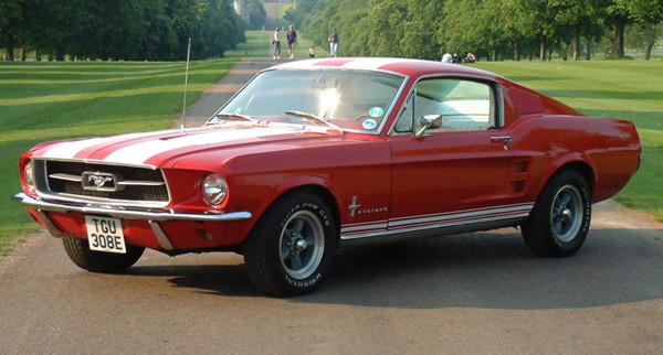Cars Sport: Ford Mustang 1964