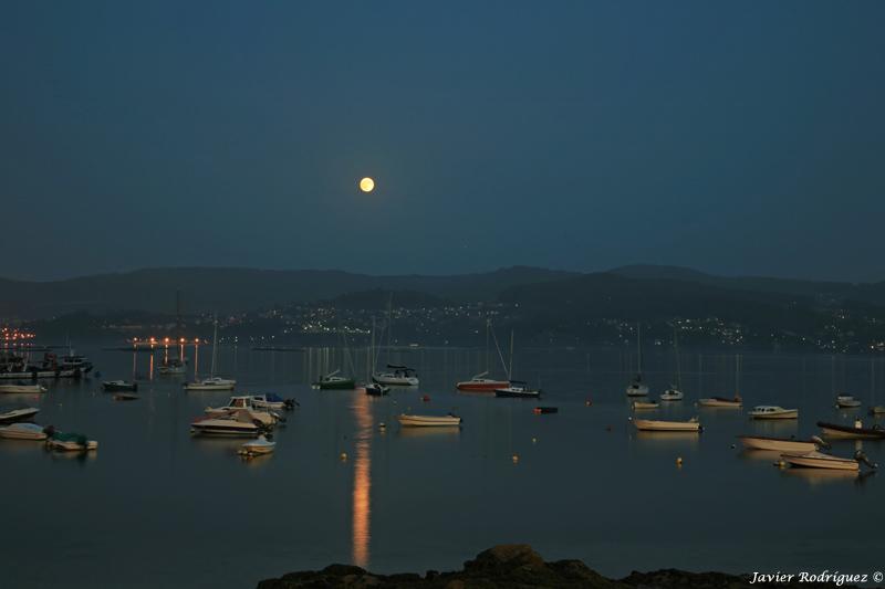 59 Luna llena. Ría de Pontevedra