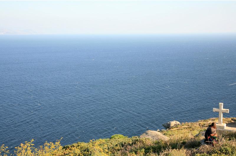 61 Cabo de Fisterra y el inmenso Atlántico