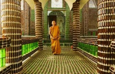 One Million Bottles of Beer in the Temple Wall