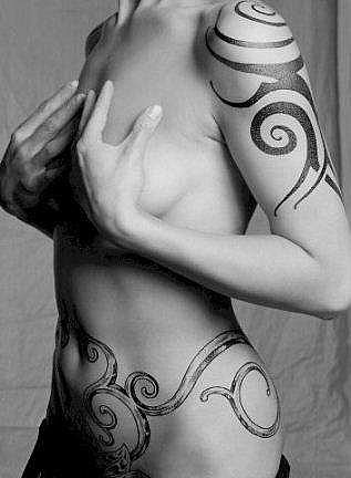 Small tattoo designs are popular amongst women because they look quite