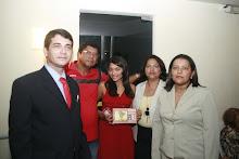 Comitiva de Custódia, com a poetisa Daniela Bezerra e a professora Ione Rezende, entre outros