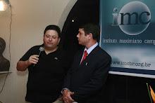 Presidente do IMC, Antônio Campos, deu apoio decisivo aos Cem poetas