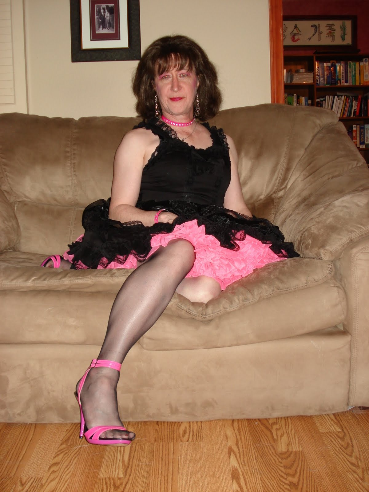 I'm slutty crossdresser tube just swallow cocks