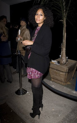 Does Tracee Ellis Ross Have A Glass Eye