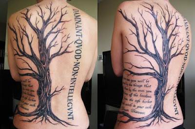 Fresco diseño del tatuaje