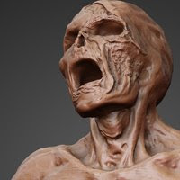 UnDead Zbrush Model