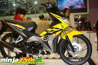 Gambar Modifikasi Motor Honda blade 110 R