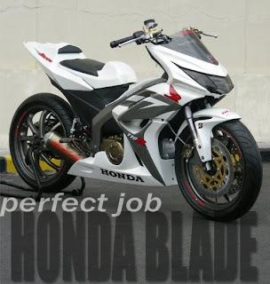 New Modification of Honda Blade 110R modif 2009