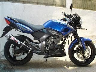 Gambar Modifikasi Motor Honda Tiger Revo 250cc