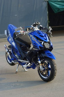 Gambar Modifi motor yamaha mio soul fighter