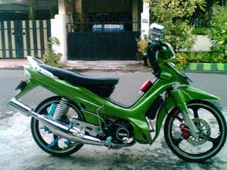 Modifikasi F1Z R 1998 Green body
