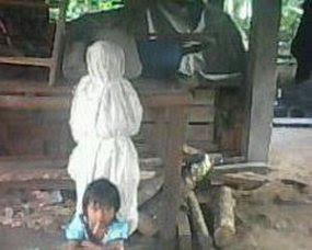 Foto Hantu Pocong & Jesika in Sumatera Selatan