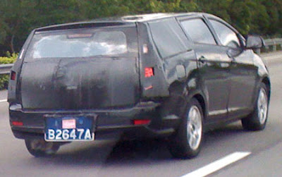 New Proton prototype mule 2010 Malaysia