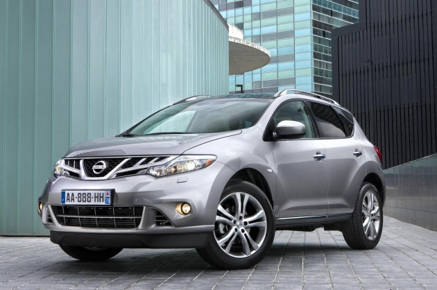Nissan Europe has apparent official capacity on the 2011 Murano agent