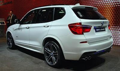 Mobil BMW F25 X3 2011