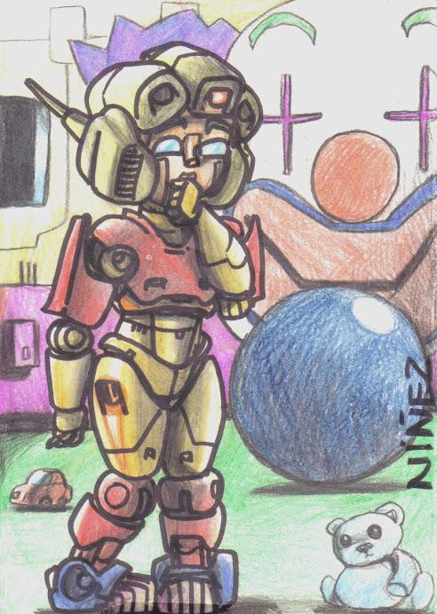 NIÑA ROBOT