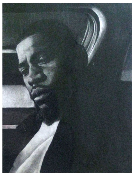 David Banner (Charcoal on Paper)