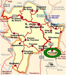 Mapa do Concelho: