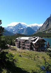 Many Glacier in Glacier National Park