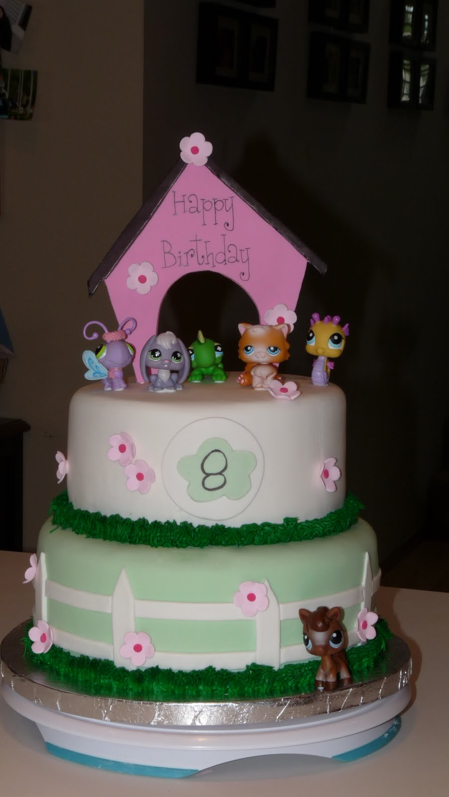 High Heels Aprons Littlest Pet Shop Birthday Cake And Goodies