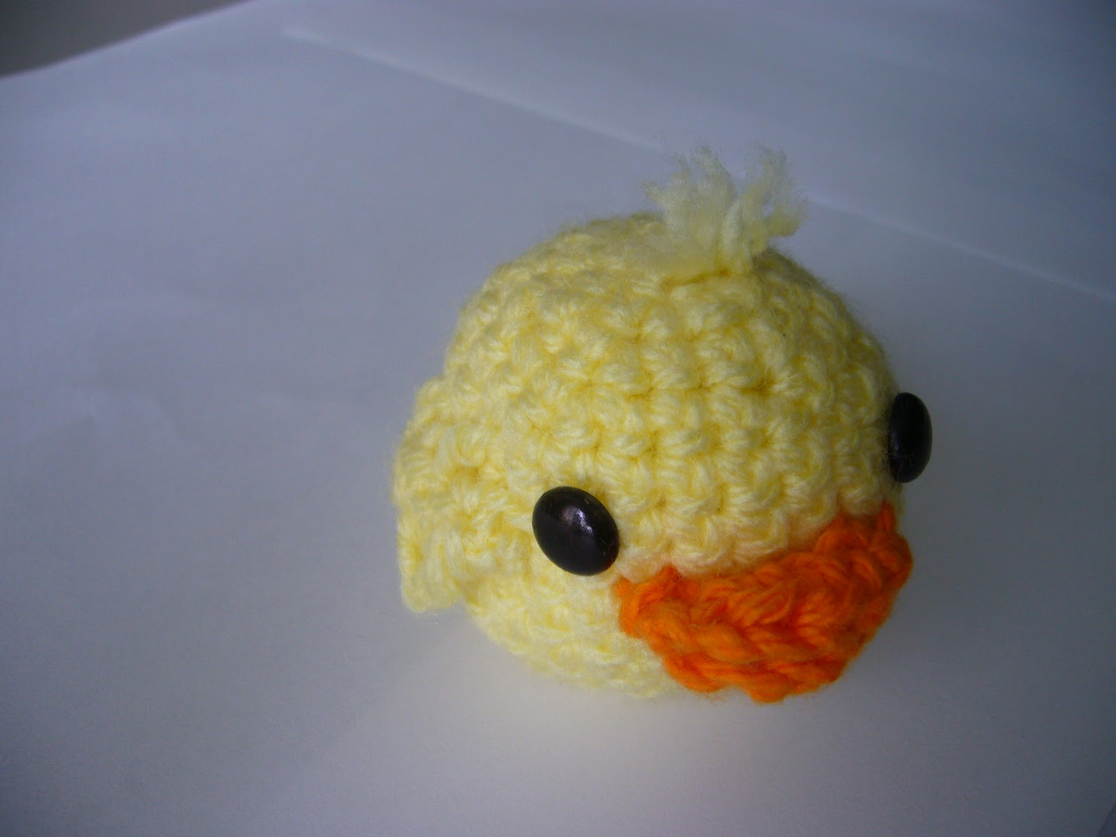 Louella the Duck Toy Crochet Pattern - French Knots: Free Vintage