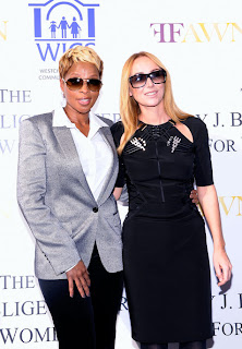 GUCCI Creative Director, Frida Giannini Attended the Opening of Mary J. Blige Center for Women.