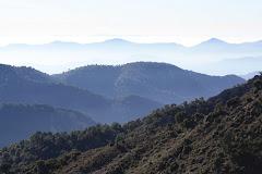 Desde el pico Espadán